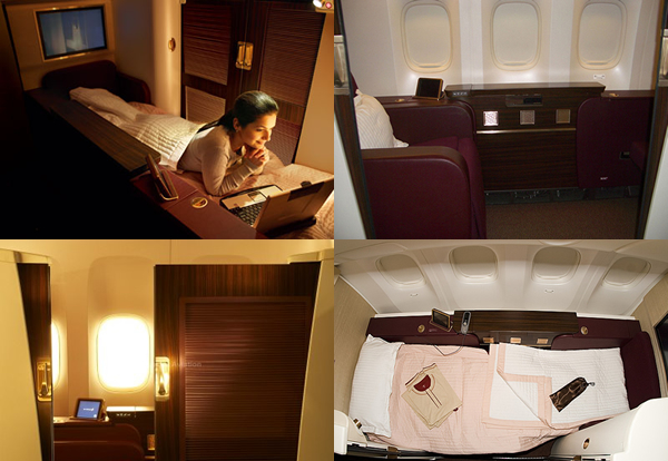 10 Best First Class Cabins To Fly In