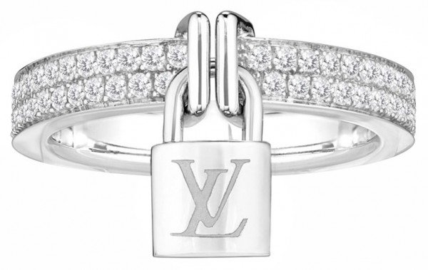 louis vuitton jewelry. my personal favorite, the stunning white gold with diamonds ring has an asking price of £3310($5322). louis vuitton jewelry