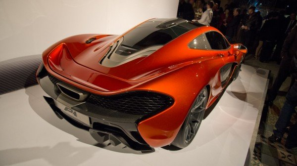 McLaren P1 supercar made a private appearance at Beverly Hills