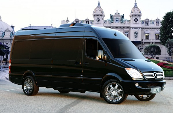 Platinum Motor Cars >> Mercedes-Benz Sprinter L5-B van rides with a high-tech luxe bedroom aboard