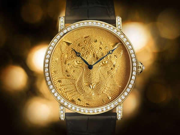 Cartier to unveil Rotonde de Cartier: Panther with Granulation at SIHH 2013