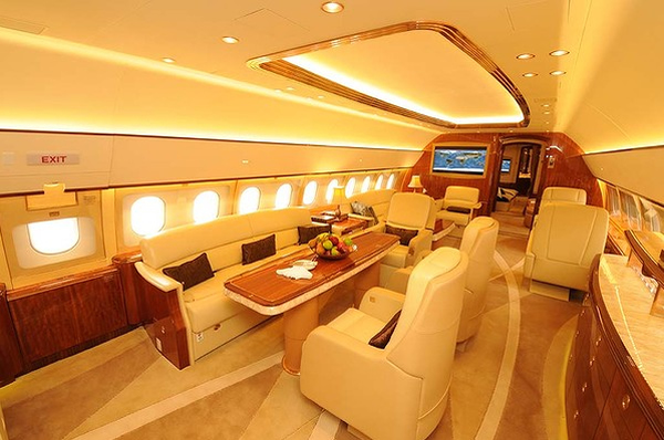 Peek Inside The 87 Million Airbus Acj319