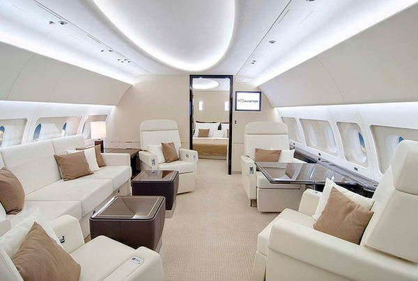 5 Of The World S Most Expensive Private Jets Richest Celebs