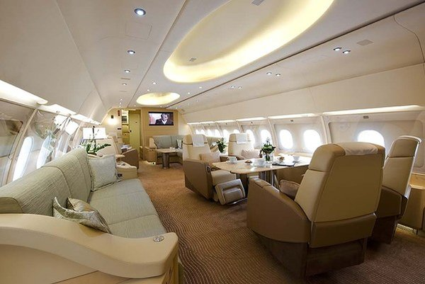 go back gallery for luxury private jet bedroom