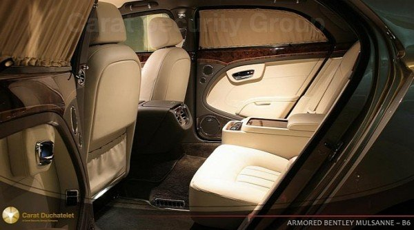 Armored Bentley Mulsanne With Long Wheelbase By Carat