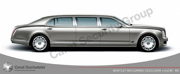 armored bentley mulsanne with long wheelbase by carat. Black Bedroom Furniture Sets. Home Design Ideas