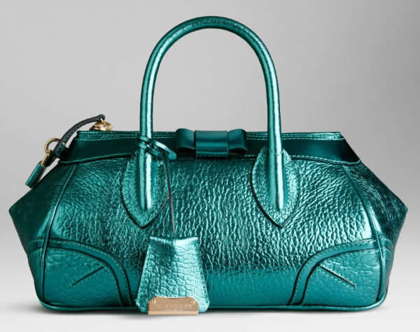 Blue Burberry bags from SpringSummer 2013 to beat post Valentine Day ...