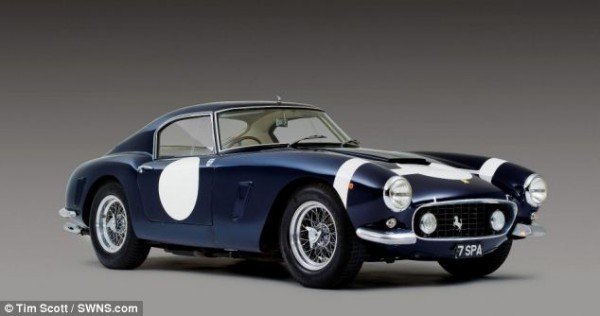 Ferrari 250 GT SWB raced by Stirling Moss sells for $11 million