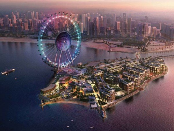 Bluewaters a $1.6bn island project to adorn Dubai
