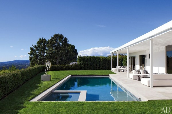 A glimpse into Sir Elton John and David Furnish's new California home