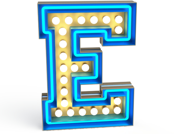 Delightfull graphic lamp collection illuminates letters numbers and