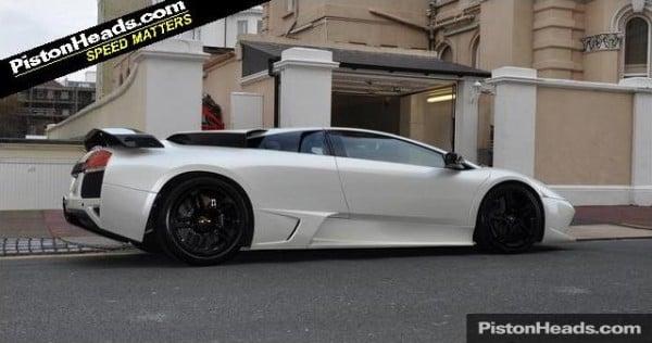 Lamborghini LP640 With Full Swarovski Crystal Interior!