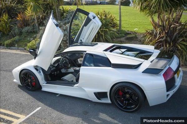 Lamborghini Murcielago Lp640 With Swarovski Crystal Interior Is Up