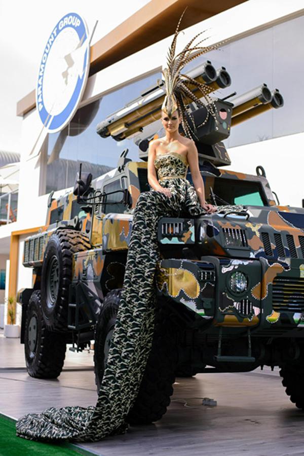 Marauder Armored Vehicle Dazzles In Swarovski Crystals And