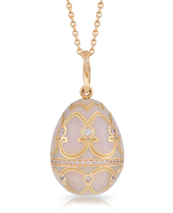 Gift your Valentine a Fabergé Les Palais Egg Pendant Collection