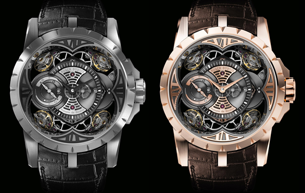 Roger Dubuis Excalibur Quatuor watch in an all-silicon case is worth $1 million