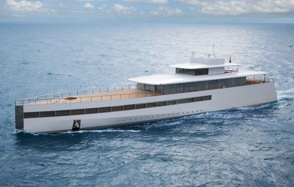 Venus Superyacht Designed For Steve Jobs Is Spotted In The U S