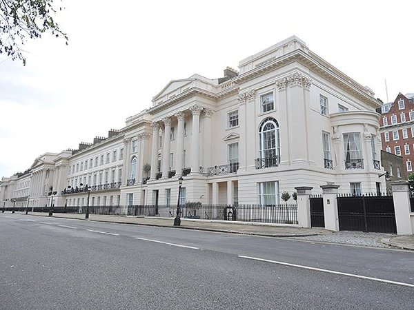 One cornwall terrace one of the most expensive house in for 9 cornwall terrace