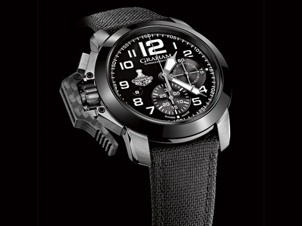 Graham Chronofighter Oversize LA Kings timepiece debuts at Los Angeles