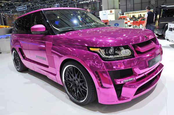Pink Range Rover By Hamann
