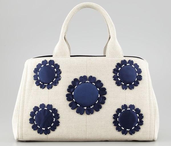 Prada Handbag Canvas