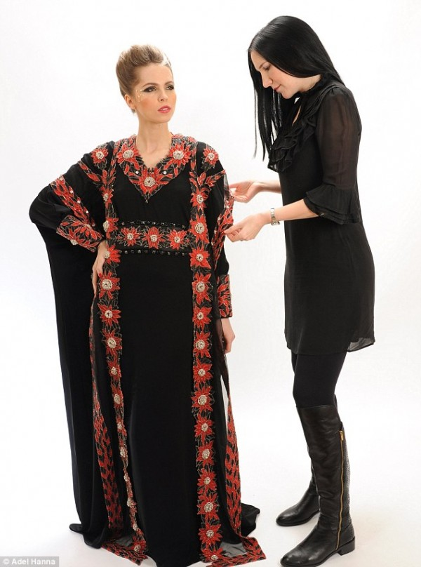 Word S Most Expensive Abaya Studded With Most Expensive