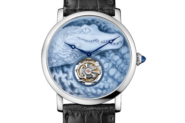 Cartier's Métiers d'Art Crocodile Watch unveiled