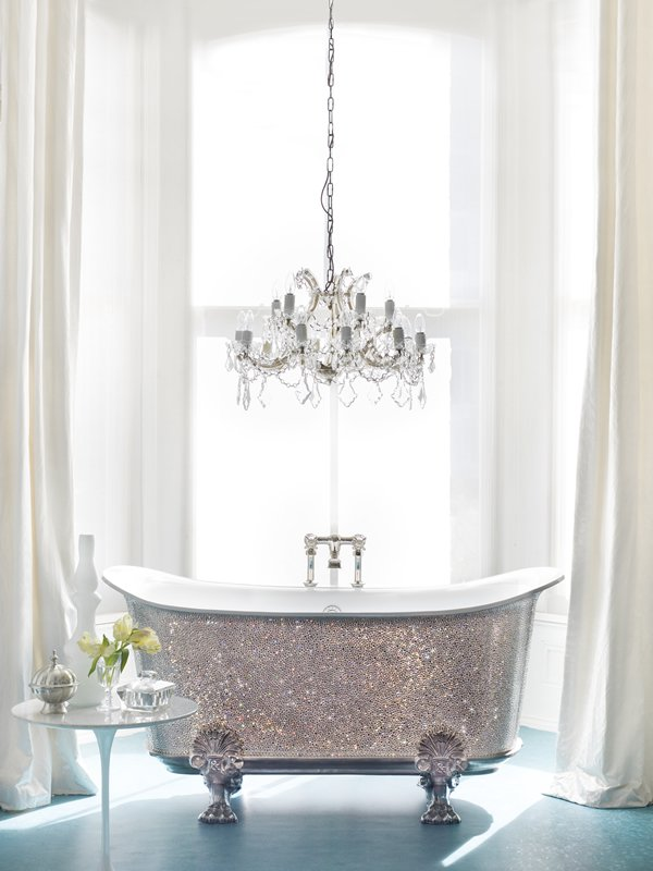 Silver And Gold Bathroom Faucets