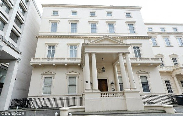 At £250 million 18 Carlton House Terrace in London  is set to become UK's most expensive property