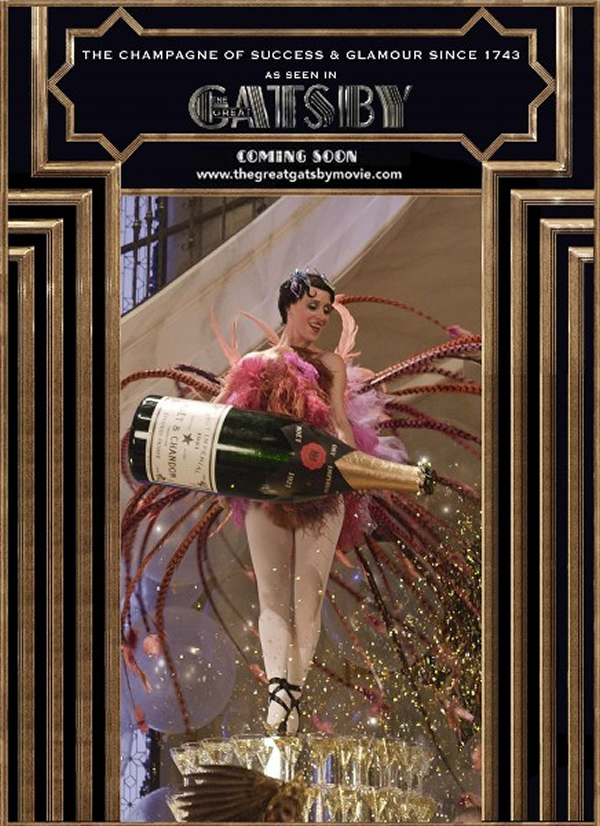 Mo 235 T Amp Chandon S Ties Up With The Great Gatsby As Their