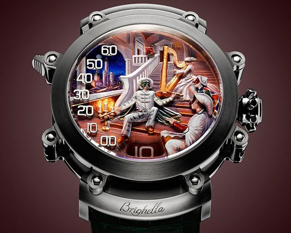 Bulgari Commedia dell' Arte watch unveiled