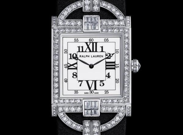 Ralph Lauren 867 diamante relógio apresentado na Baselworld 2013