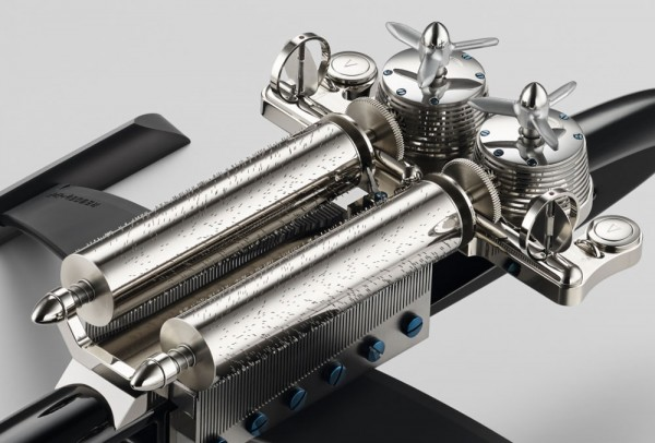 MB&F releases their first non time-telling creation with the MusicMachine music box style desk piece