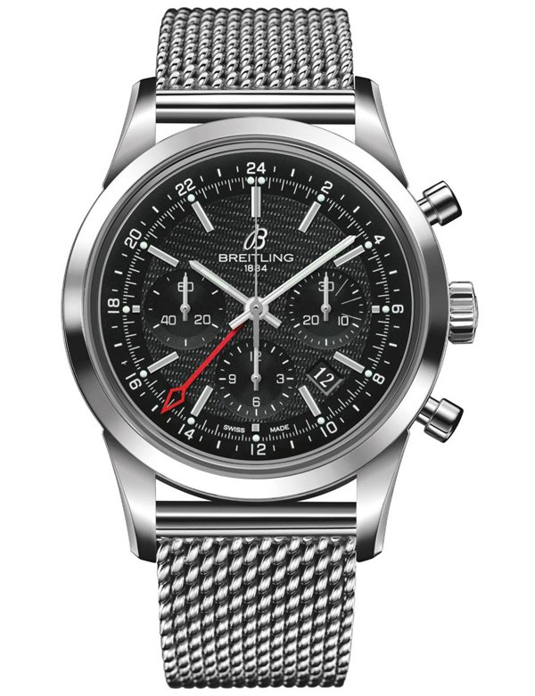 Breitling Transocean Chronograph GMT is for nomadic souls